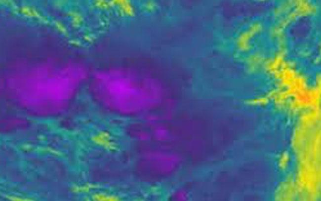 La nube más fría jamás registrada en la Tierra
