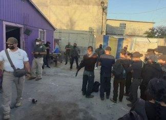 Rescatan a 25 centroamericanos en la colonia Burocrática de Reynosa