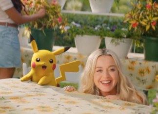 Katy Perry estrena 'Electric' junto a Pikachu por 25 aniversario de Pokémon