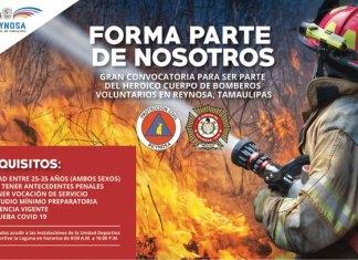 Convoca Ayuntamiento a formar parte del Cuerpo de Bomberos