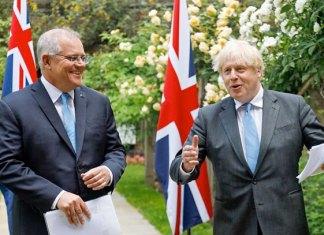 Reino Unido logra histórico acuerdo comercial post Brexit con Australia