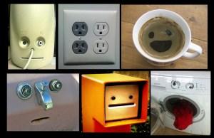 Por la misma razón que vemos una cara en Marte, vemos también caras en los objetos que nos rodean.