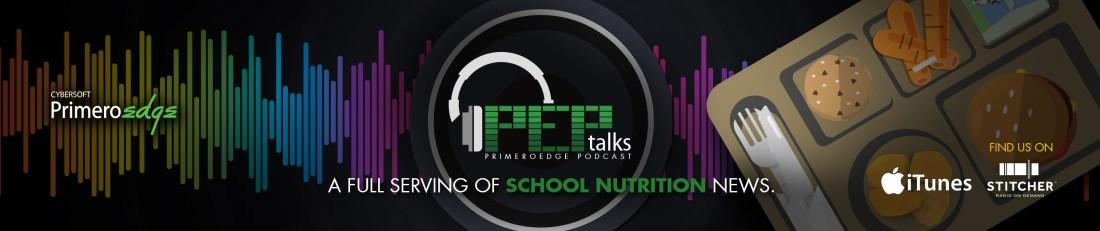 PrimeroEdge PEP Talks Podcast Header