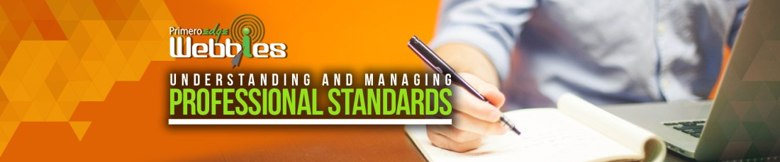 Webbies: Professional Standards