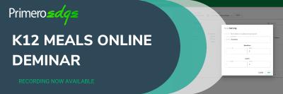 K12 Meals Online Deminars