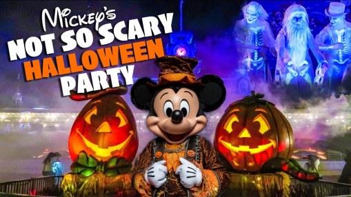 Mickey's Halloween Party menos gente