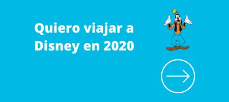 viajar disney 2020