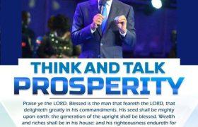 Rhapsody Of Realities – Think And Talk Prosperity