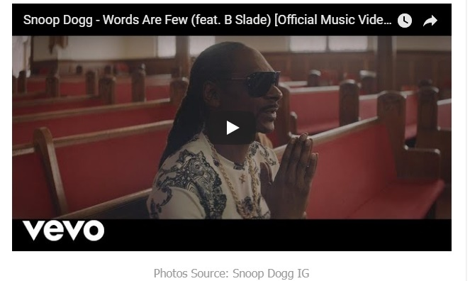 Snoop Dogg -Words Are Few