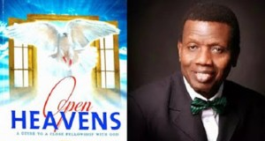 Today's Open Heaven 9 September 2018 Sunday By Pastor E.A Adeboye