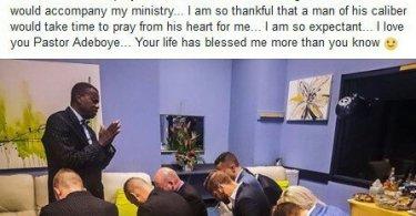 """I Got $1.1m After Bishop Oyedepo Laid Hands On Me"" – U.S Evangelist, Shuttlesworth"