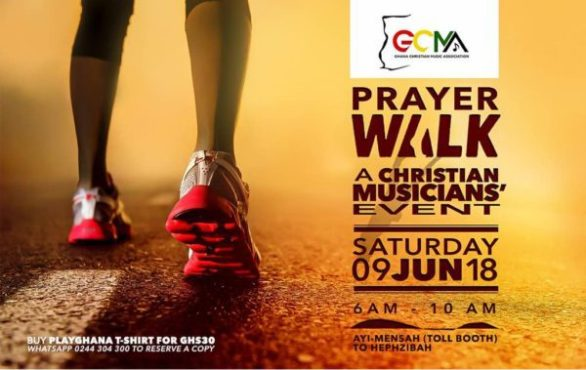 Ghana Christian Musicians Association (GCMA) To Embark On A Prayer Walk