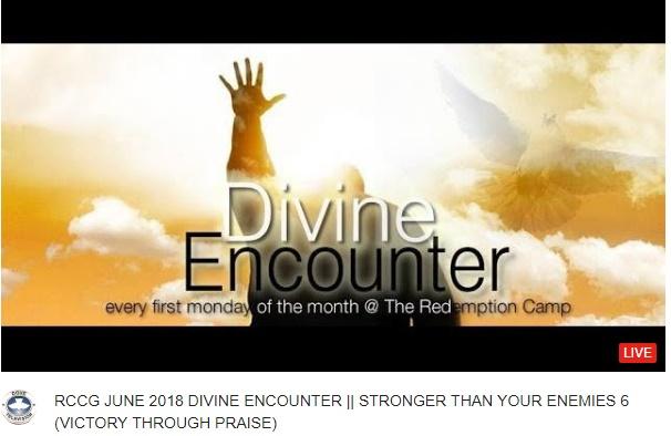RCCG JUNE 2018 DIVINE ENCOUNTER || STRONGER THAN YOUR ENEMIES 6 (VICTORY THROUGH PRAISE)