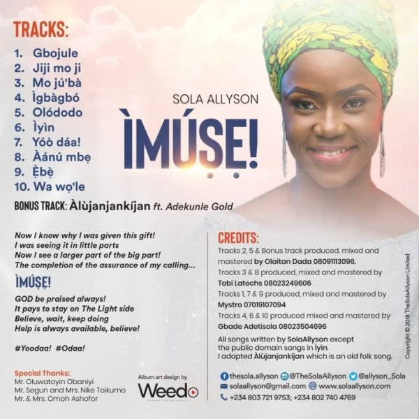 Sola Allyson New Album