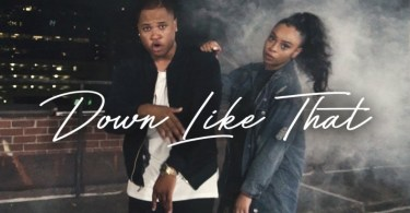 "Aaron Cole New Single ""Down Like That""Mp3 Featuring Koryn Hawthorne"