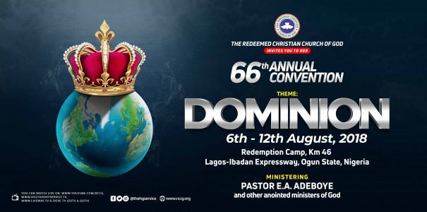Welcome message by Pastor E.A. Adeboye – RCCG 66th Annual Convention 2018 #dominion