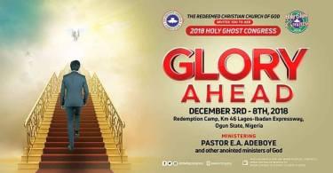 RCCG December 2018 Holy Ghost Congress