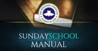 SUNDAY 11TH NOVEMBER, 2018 – THE EARLY CHURCH: A MODEL FOR TODAY, RCCG SUNDAY SCHOOL TEACHER' MANUAL