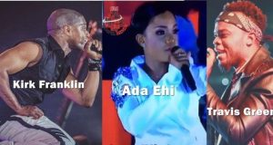 Kirk Franklin, Travis Greene, Ada Ehi Brought songs At 2018 Experience 13