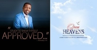 Open Heaven 23 December 2018 Sunday Daily Devotional By Pastor E. A. Adeboye – Good Measure