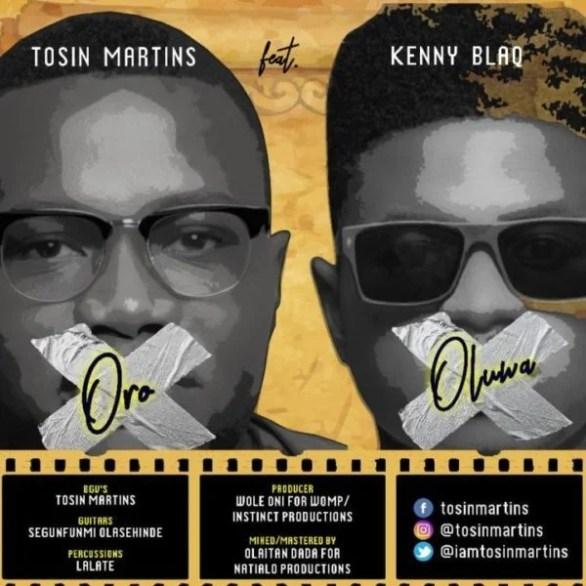 Download Music  Oro Oluwa Mp3 By Tosin Martins Ft. Kenny Blaq