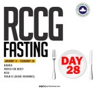 Day 28: RCCG 2019 Fasting Prayer Points – Thursday 7th February 2019