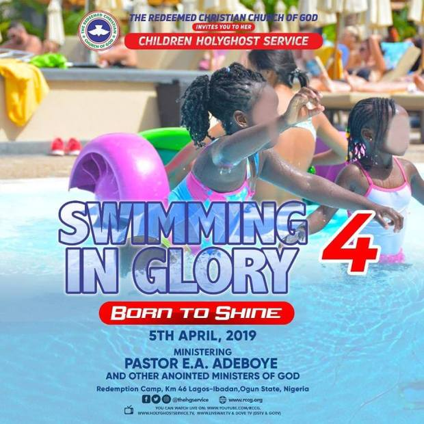 Watch Live Video RCCG April 2019 Children Special Holy Ghost Service