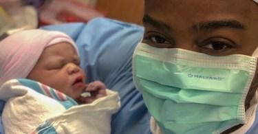 Travis Greene welcomes baby boy.