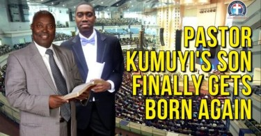 Watch Pastor W.F Kumuyi Son Eventually Becomes a Born Again Christain.