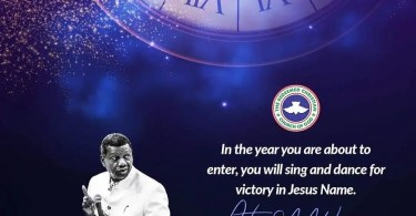 2020 RCCG Prophecies By Pastor E.A Adeboye