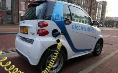 Energy transformation in electric vehicles.