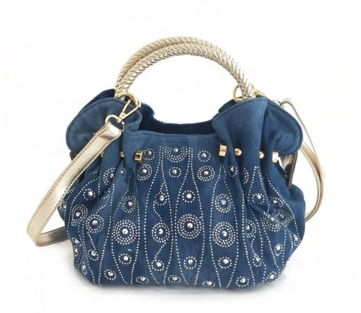 Cheeky Little Denim Handbag