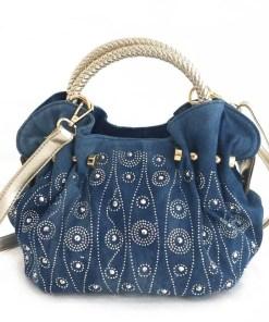 Cheeky Little Denim Handbag