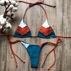 Womens Colourful Micro Bikini