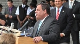 Gov. Christie at news conference
