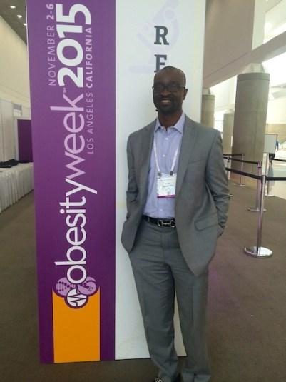 Dr. Seun at the 2015 ASMBS Obesity Week Conference