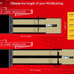 Bowling Lane Dimensions Diagram How To Draw A Car Wiring Imply Mini Primetime Amusements