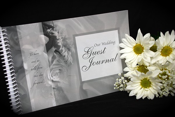 Wedding Guest books cheap and affordable with Prime Time Print