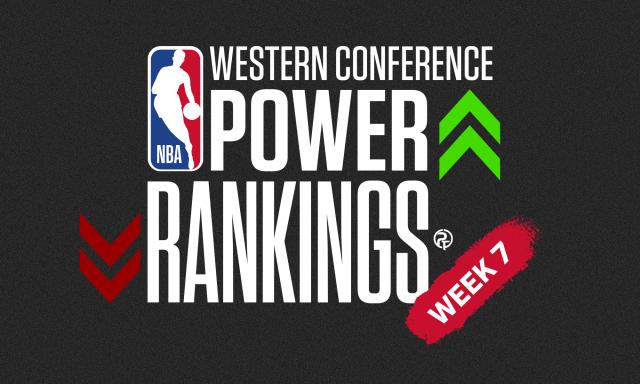 NBA Western Conference Power Rankings: Week 7
