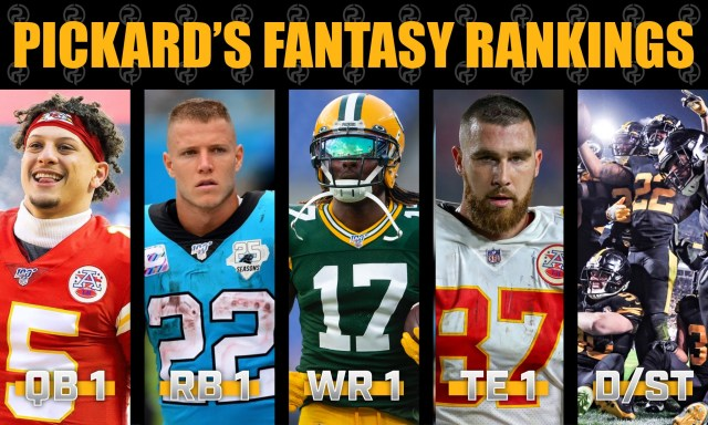 Pickard's 2021 Fantasy Football Draft Rankings