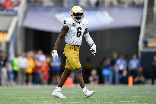 New Orleans Saints mock draft: Jeremiah Owusu-Koramoah