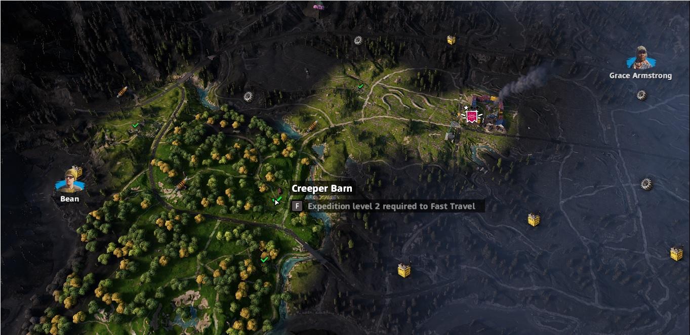 Creeper Barn | Far Cry New Dawn | Gears Stashes Locations | PrimeWikis