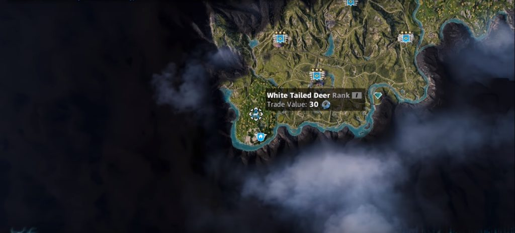 Deer | Far Cry New Dawn | Location. Hunting Spot. Skin Value | PrimeWikis