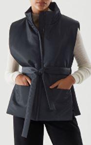 COS Zip Up Puffer Vest