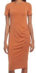 Nordstrom Side Ruched Bodycon Dress