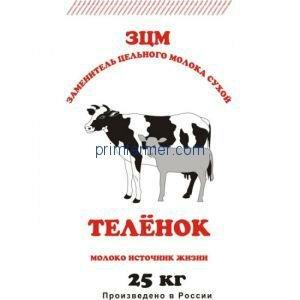 ЗМС ЭКО-ЗЦМ ТЕЛЕНОК, 25 кг