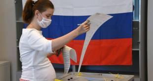 PARTIDO GOBERNANTE EN RUSIA LIDERA  RECUENTO PRELIMINAR DE LEGISLATIVAS