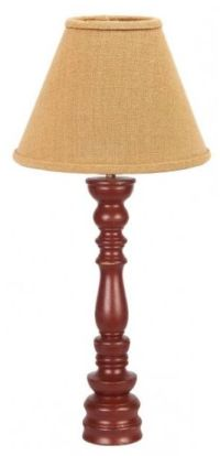 Country Home Decor: This just in! Handcrafted wooden lamps
