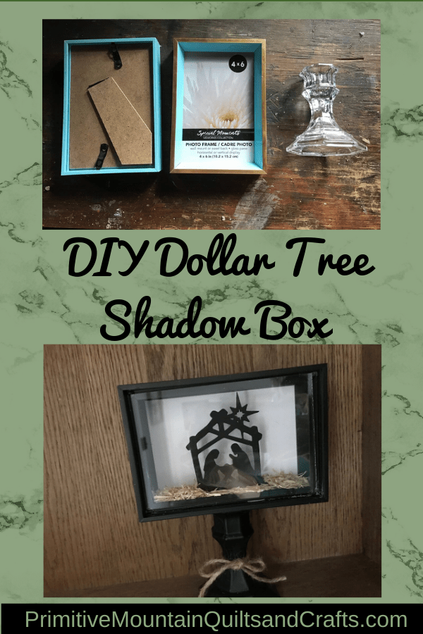 Dollar Tree Shadow Box : dollar, shadow, Dollar, Shadow, Primitive, Mountain, Quilts, Crafts