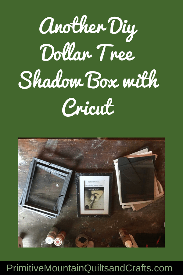 Dollar Tree Shadow Box : dollar, shadow, Another, Dollar, Shadow, Cricut